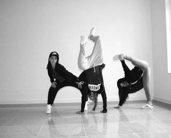 Hip Hop Lady Styl Teens
